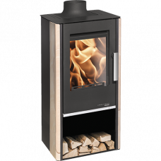 Kaminofen ENGADIN EcoApp 283.15-ST perl-schwarz Woodstone