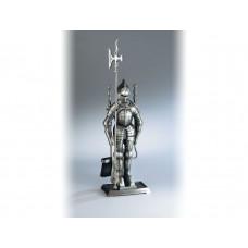 Kaminbesteck 4-teilig Ritter antik, Höhe 71 cm