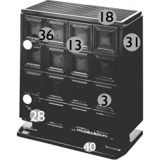 Dauerbrandofen METEOR II 127.15 MJ