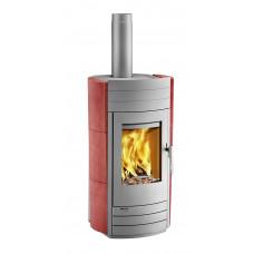 Kaminofen i-2060 Keramik hot chili, Grundfarbe gussgrau * =