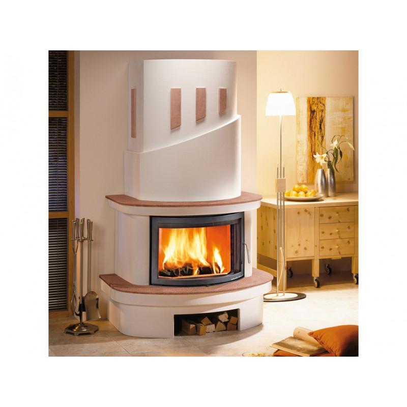 haas sohn kaminbausatz colmar steinsims cotto kamineinsatz exquisit bausatz. Black Bedroom Furniture Sets. Home Design Ideas