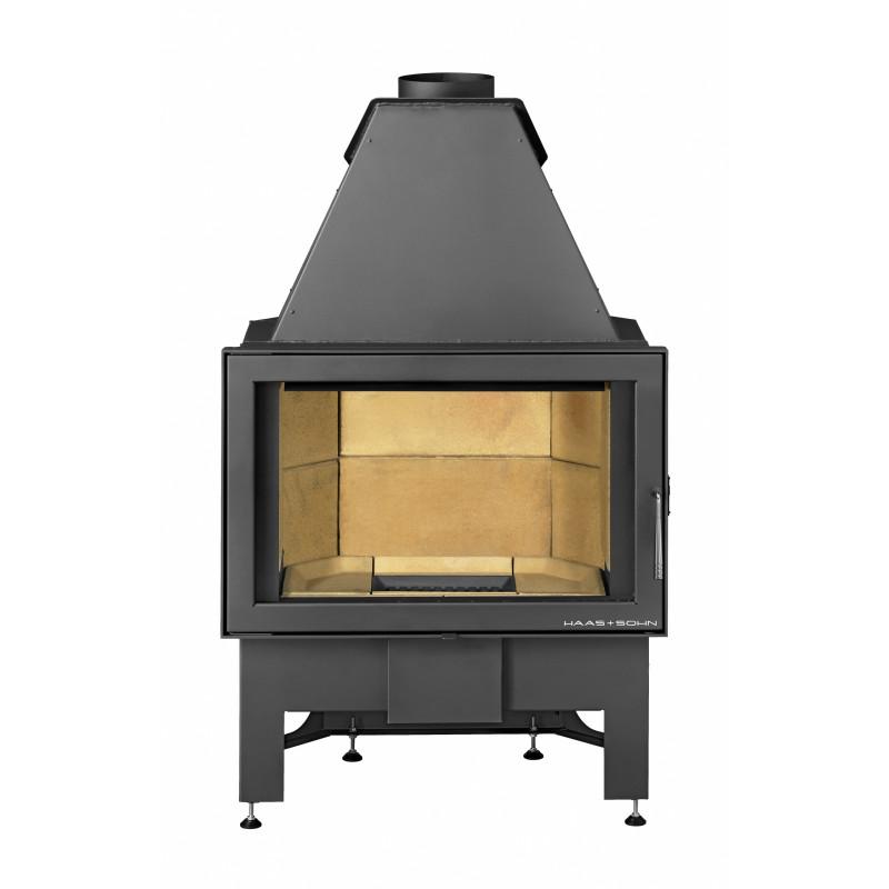 haas sohn kamineinsatz komfort sichtfenster flach. Black Bedroom Furniture Sets. Home Design Ideas