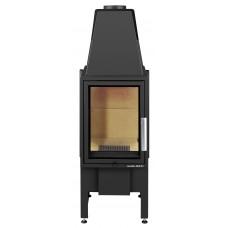 Kamineinsatz ESPRIT-IV 185.16, perl-schwarz, Sichtfenster flach