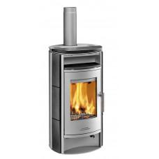 Kaminofen EIFEL 230.17-C 8107 Keramik black wood, Grundfarbe gussgrau * =