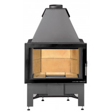 Kamineinsatz KOMFORT-III 180.18, Sichtfenster flach mit emaillierter Tür