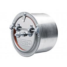 Energiespar-Zugregler Ø 130mm, aus Edelstahl