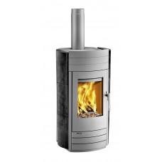 Kaminofen i-2060 Keramik blackwood, Grundfarbe gussgrau * =