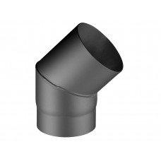 Coude 45°, 150/250/270 mm (Ø/L/H), perle anthracite