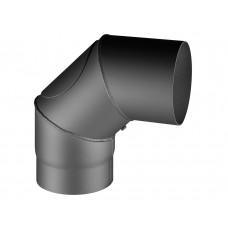Coude 90° avec trappe de nettoyage, 150/285/285 mm, Ø/L/H, anthracite