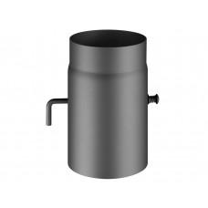 Conduit avec clé de tirage, Ø 150, L=250 mm, perle anthracite