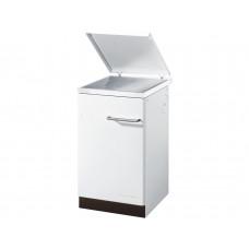 Cuisinière à mazout 420.50 blanc, cadre emaillé