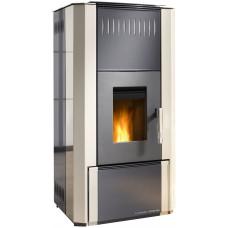 Thermo poêle  AQUA PELLET 620.09 gris