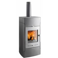 Thermo poêle BELAQUA 468.19-WT anthracite/porte gris fonte