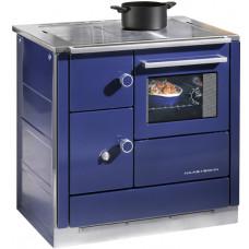 Cuisiničre DH 85 blue/dessus en acier poncé/four à droit