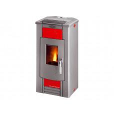 Poêle à granulé ECO PELLET 302.08 - C céramique rouge