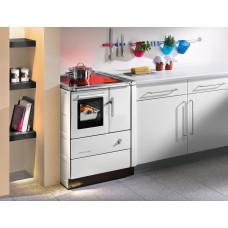 Cuisinière HSD 60.5-C, blanc,  Plaque de cuisson en céramique,four et raccordement en gauche=