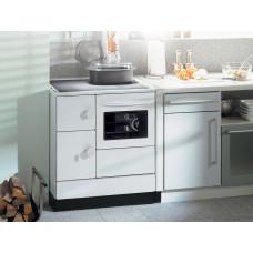 Cuisiničre HSD 76-aS blanc/dessus laqué/four à droit