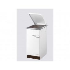 Cuisinière HSZ 40.4-C, blanc,  Plaque de cuisson en vitrocéramique