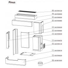 Poêle à bois PINUS 218.17