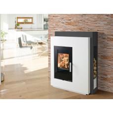 Kit de cheminée PINUS-II, foyer PINUS-II 218.17-II, couleur/version béton non traité, coloris personnalisable