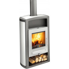 Thermo poêle WARBURG 367.19-WT anthracite/gris fonte