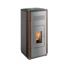 PELLETTO 432.08-C Keramik gussgrau/coffee-bean